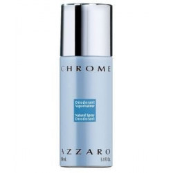 Chrome Déodorant Spray - 150 ml