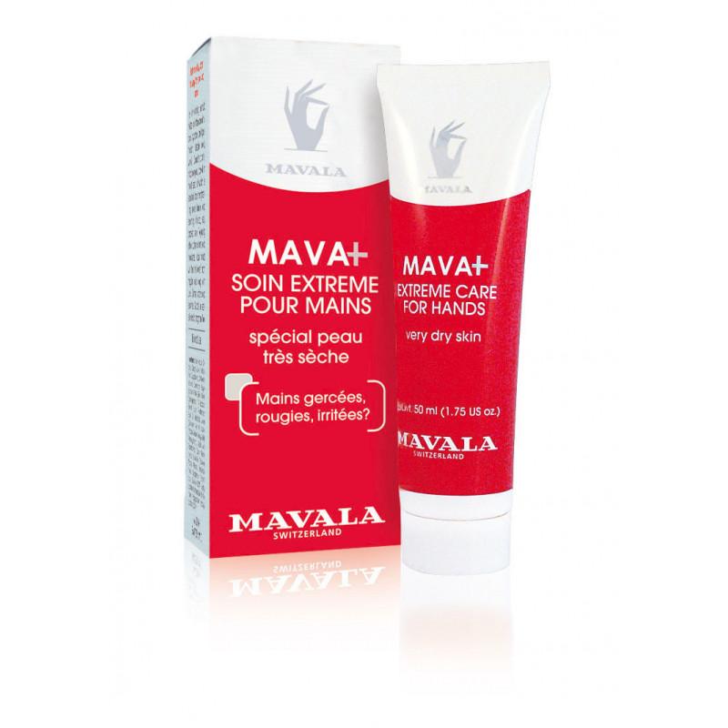 Crème à Mains Mavala + Le Soin de Jour Extrême pour Mains très Sèches, très Sollicitées