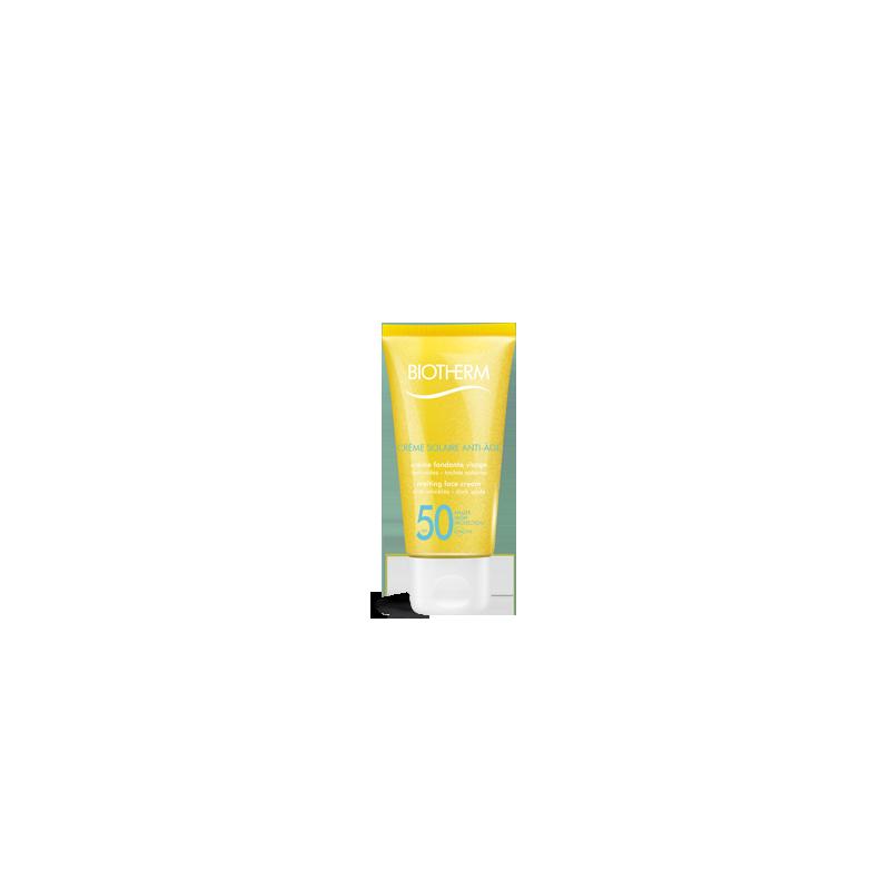 Crème Solaire Anti-Age SPF50 Crème Fondante Visage Anti Rides Taches Solaires - 50ml