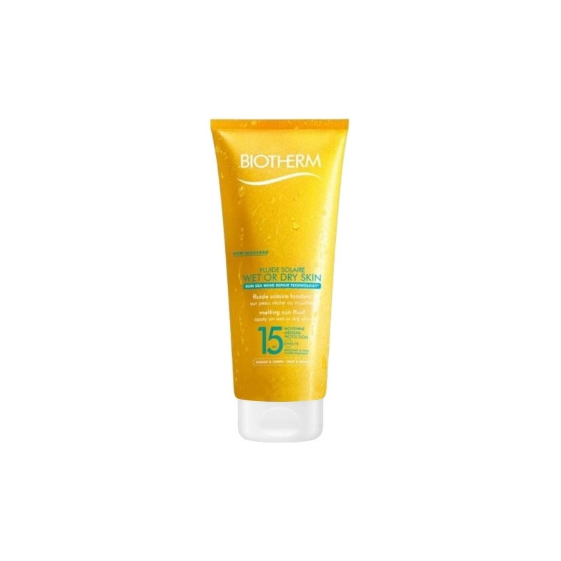Fluide Solaire Wet or Dry SPF15 - 200 ml