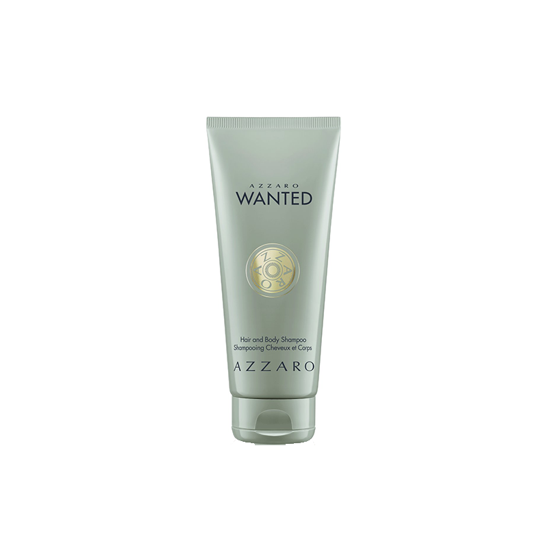 Azzaro Wanted Gel Douche Cheveux et Corps - 200 ml