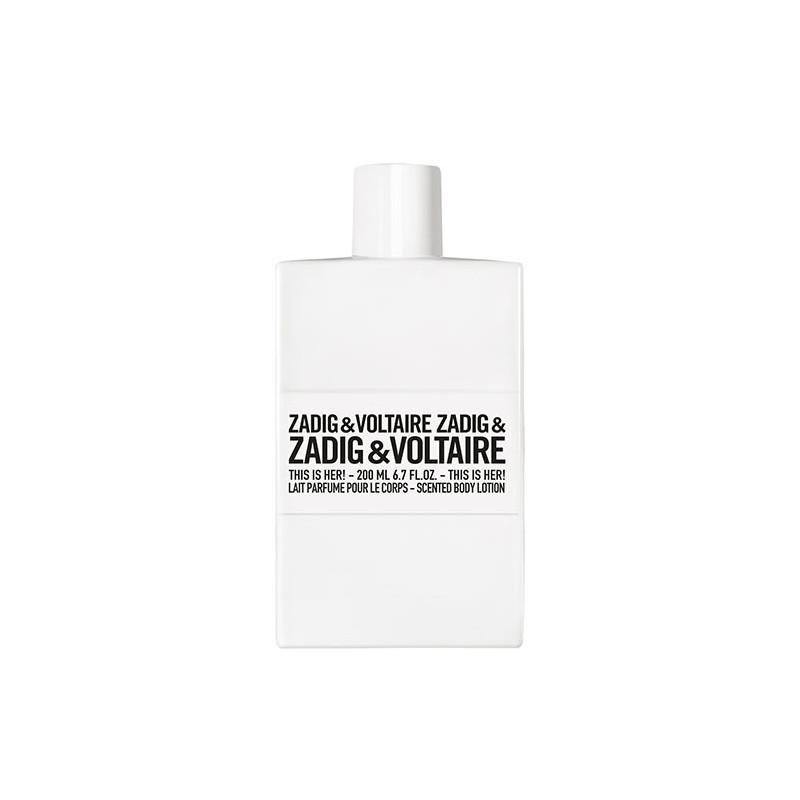 Zadig & Voltaire This is Her!  Lait Parfumé pour le Corps - 200 ml