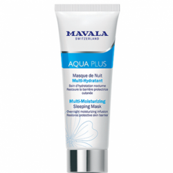 AQUA PLUS Masque de Nuit Multi-Hydratant - 75 ml