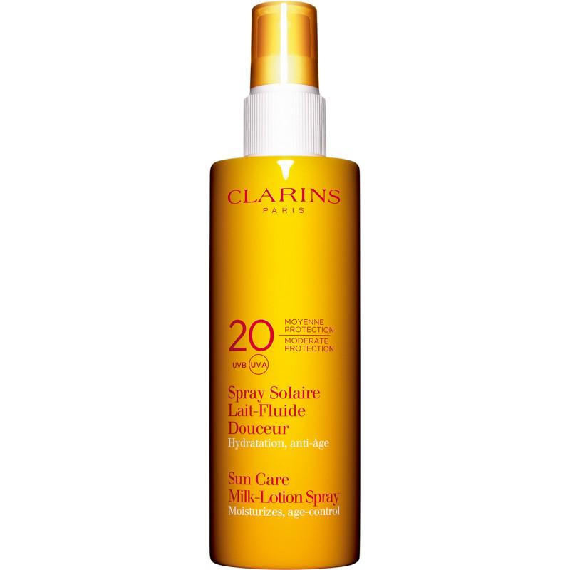 Spray Solaire Lait-Fluide Douceur Moyenne Protection UVA/UVB 20 - 150 ml